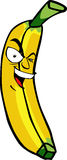 Crazy banana Royalty Free Stock Photo