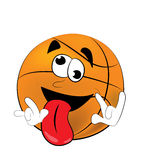 Crazy Basketball ball cartoon Stock Photo