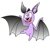 Crazy bat Stock Photo