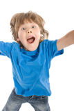 Crazy boy Royalty Free Stock Images