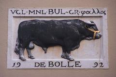 Crazy bull Royalty Free Stock Image