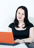 Crazy business woman Royalty Free Stock Photo