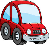 Crazy Cartoon Car Royalty Free Stock Photography