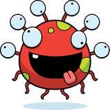 Crazy Cartoon Eyeball Monster Stock Images