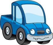 Crazy Cartoon Pickup Truck Stock Photo