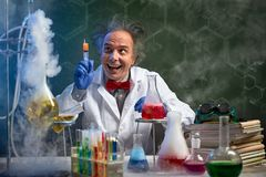 Free Crazy Chemistry With Injection Stock Photography - 109051782