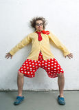 Crazy clown Stock Photos