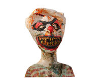 Crazy Clown Mannequin. Stock Image