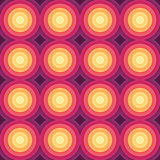 Crazy colorful gradient geometric pattern. Vector Royalty Free Stock Images