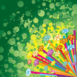 Crazy colors Royalty Free Stock Images
