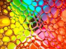 Crazy colourful bubbles royalty free stock photos