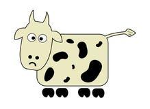 Crazy cow Royalty Free Stock Photos