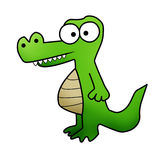 Crazy crocodile Royalty Free Stock Photography