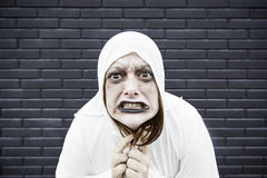 Crazy disturbed Royalty Free Stock Photography