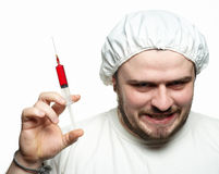 Crazy Doctor Royalty Free Stock Image