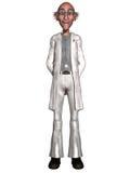 Crazy doctor. 3d render of a crazy doctor Stock Images