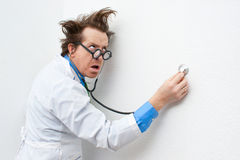 Crazy doctor Stock Photos