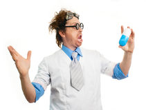 Crazy doctor Stock Photo