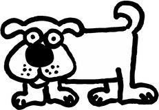 Crazy Dog Stock Photos