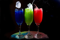 Crazy drinks Royalty Free Stock Images