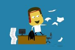 Crazy Employee Stock Photo