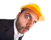 WOW Engineer Stock Photo