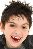 Crazy Face Close Up Child Royalty Free Stock Images