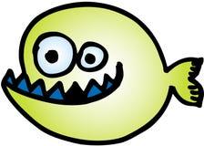 Crazy Fish stock illustration