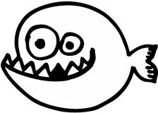 Crazy Fish Stock Images