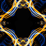 Crazy Fractal Frame Royalty Free Stock Photo