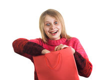 Crazy gift Stock Images