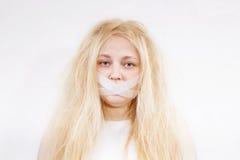 Crazy girl Stock Photography