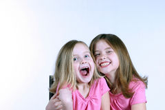 Crazy Girls Stock Photo