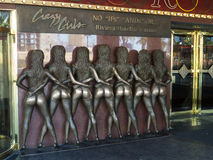 Crazy Girls Sign at the Riviera Las Vegas Stock Photography