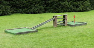 Crazy Golf Course. Royalty Free Stock Photo
