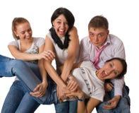 crazy group people portrait στοκ εικόνες με δικαίωμα ελεύθερης χρήσης