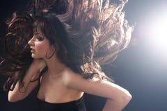 Crazy hair stock photography