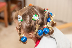 Crazy Hair Day Royalty Free Stock Photography