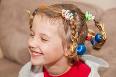 Crazy Hair Day Royalty Free Stock Photo