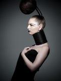 Crazy hair fashion Stock Photography