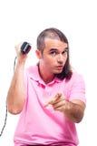 Crazy haircut Royalty Free Stock Photo