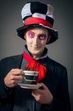 Crazy Hatter stock photo