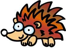 Crazy hedgehog Stock Photography