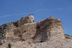 Crazy horse memorial Stock Images