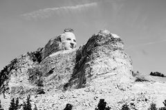 Crazy Horse memorial Royalty Free Stock Photos