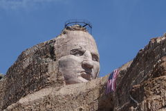 Crazy horse memorial Royalty Free Stock Photography