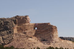 Crazy Horse memorial Stock Photos
