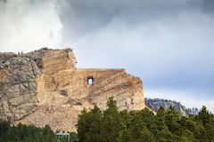 Crazy Horse Memorial, South Dakota. Royalty Free Stock Images
