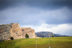 Crazy Horse Memorial, South Dakota. Stock Photos