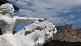 Crazy Horse Monument royalty free stock image